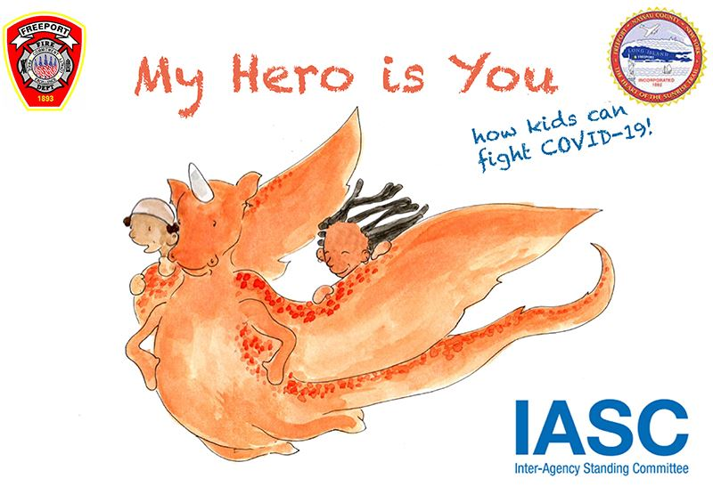 My Hero is You, Storybook for Children on COVID-19